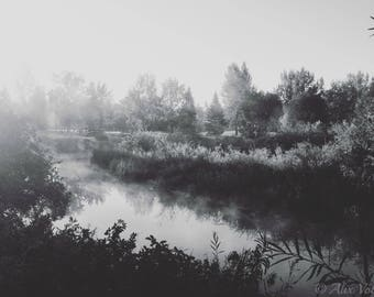 Down by the River - Fine Art Print