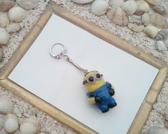 Keychain make decorative cute Fimo