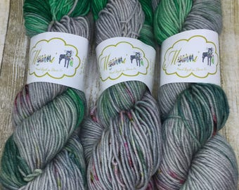 "Worsted Superwash Wool ""Goblins"""