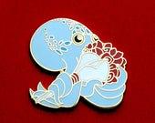 Octopus Pin, Rose Pin, Flower Pin, Enamel Pin, Valentines Pin, Valentine's Pin, Cute Pin, Anniversary Pin, Sweetheart Pin, Anime Pin