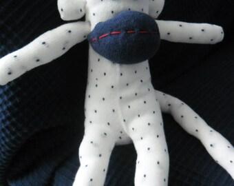 Cuddly sock monkey blanket handmade