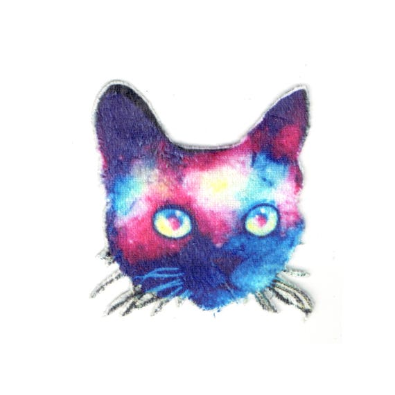 "Patch fusible pattern ""Cat"""