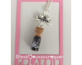 Kitten vial necklace