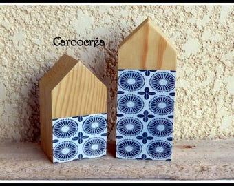 Scandinavian House wood, decorative House