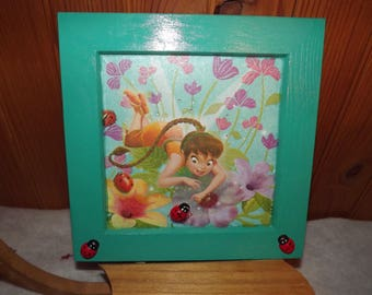 the Ladybug girl fairy frame