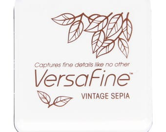 Mini ink VersaFine Vintage Sepia - photo - Ref TSVFS054 - until the stock!