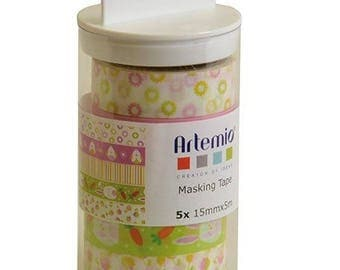 Masking tape x 5 - Artemio Easter assortment - Ref 11060334