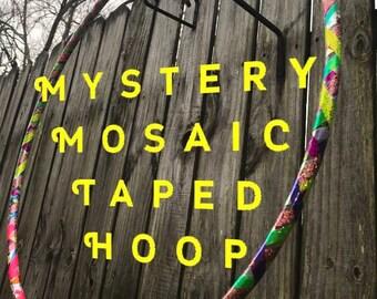Mystery Mosaic Scrap Taped Hula Hoop
