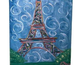 Eifel Tower on Canvas