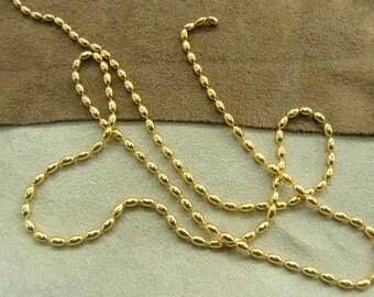 -METAL 0.2 cm - golden chain