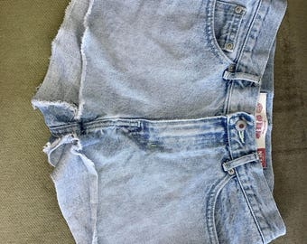 Gap blue jeans special denim cutoff shorts
