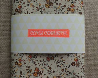 """Cotton fabric printed """"flowers"""""""