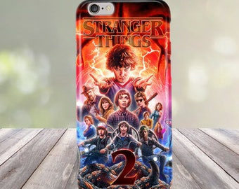 Stranger Things 2 Season 2 for iPhone 4/4S 5/5S/SE 5C 6/6S 7 8 Plus Case Cover