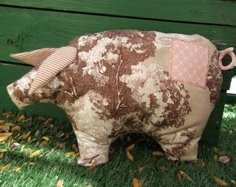 pig shaped toy pillow