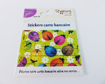 decorative for multicolored Ladybug card