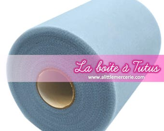 Soft roll of Tulle for tutu baby dress girl decoration sky blue