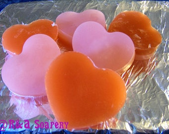 Strawberries and Cream Handmade Strawberry scented Glycerin Decorative Moisturizing Soap