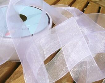 White chiffon Ribbon