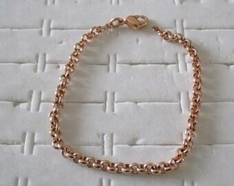 gold plated Belcher Mesh Bracelet