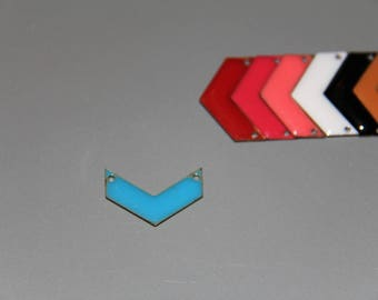 2 connectors emailed blue Chevron