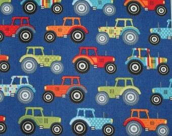 "Fabric - ""Jolly farm"" - Makower 08"