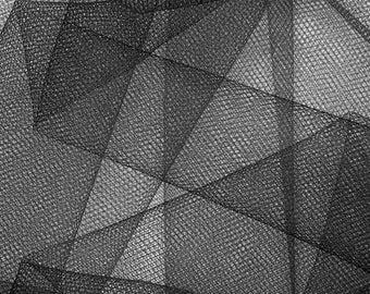 tutu black stiff tulle fabrics