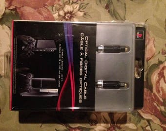 Optical Digital Audio Cable - New Genuine Sony PlayStation * NEW / SEALED *