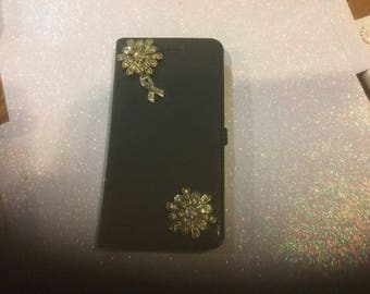 Blinged IPhone 6 handmade flip open  case