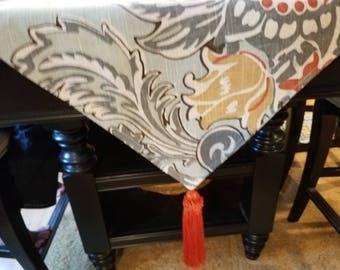 Multi-colored Table Runner/Dresser Scarf