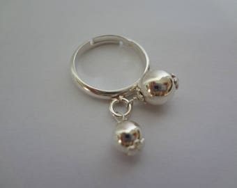 Ring charm beads 925 sterling silver
