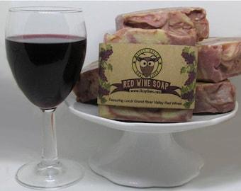 Red Wine Goat Milk Soap
