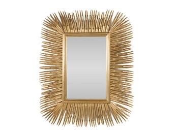 Gold Spike Mirror