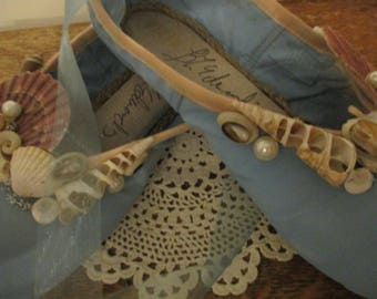 Seashell Decorated Pointe Shoes