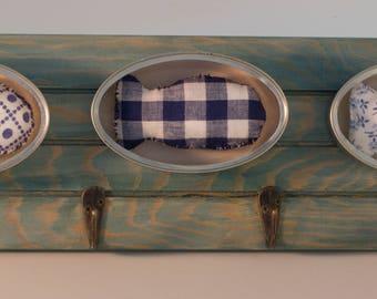 Dishcloth boxes blue sardines