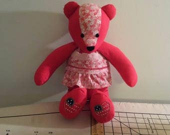 Memory bears made from clothing items