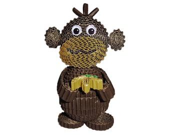 Creative Kit to make a monkey corrugated / creative kids DIY Kit