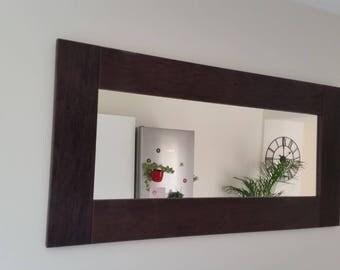 wenge mirror frame