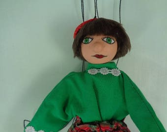 """The little Scottish"" marionette"
