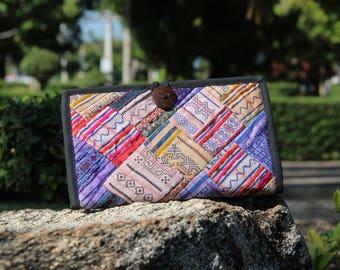 Bi Fold Wallet Phone Case Handmade Ethnic Wallet Hippy Wallet Womens Purse  Tribal Wallet Hippie Wallet Hippie Purse