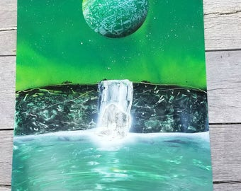 Green Planet Waterfall