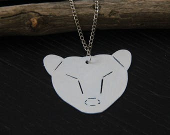 White bear necklaces