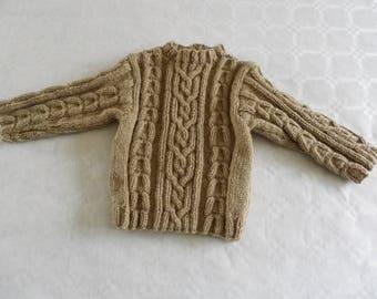 Brown sweater wool 6 month boy