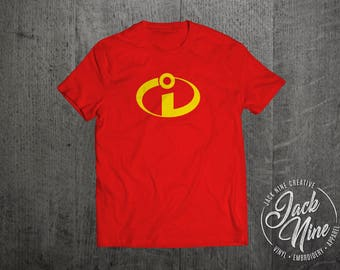 The Incredibles (Inspired) - Incredibles Logo T-Shirt