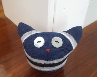 Small Sock Doll With Button Eyes