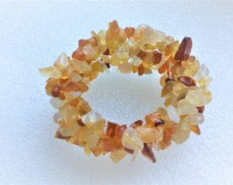 Baltic Amber chips fita all sizes bracelet