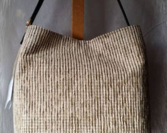 "Bag ""Tote Bag"" beige black"