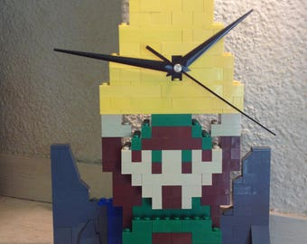 Legend of Zelda Lego Clock