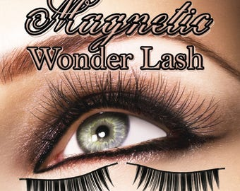 Magnetic Eyelashes. Find us in Beauty and Bath under Eyelashes. Beautiful eyes enhanced by false eyelashes.