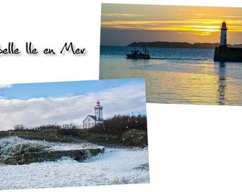 Beautiful Sea Island postcards