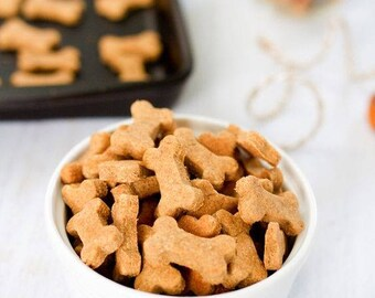 Handmade Peanut Butter Apple Dog Treats